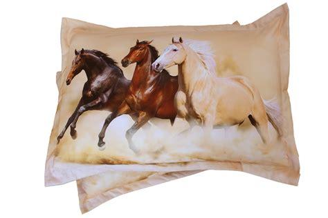 pferde bettdecke bettw 228 sche set majest 228 tischen pferde laufen freies hd 3d