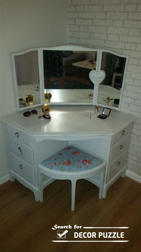 Small Corner Vanity Table 25 Dressing Table Ideas To Transform Your Bedroom