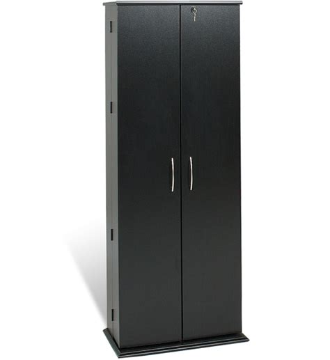 grande locking media storage cabinet in media storage cabinets