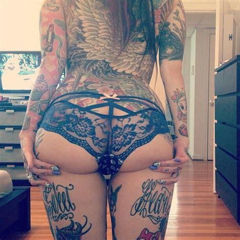 girl wear tattoo underwear skull panties tattoos panties pinterest tattoo