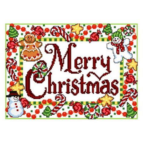 candy christmas cross stitch pattern christmas