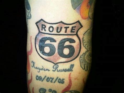 route 66 tattoo car tattoos and designs page 3