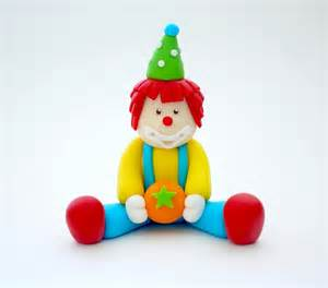 circus cake toppers fondant clown cake topper edible clown cake topper circus