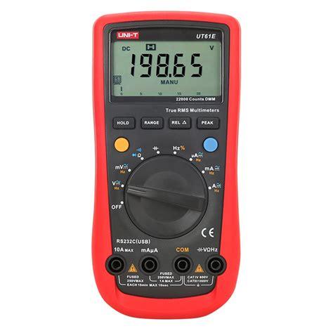 Multimeter Constant 89 ut61e multimeter ut61 series modern digital multimeters uni t