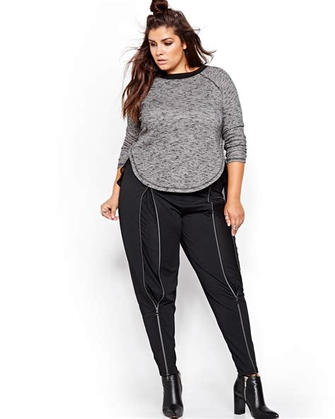plus size but edgy hairstyles 6 sexy edgy plus size fall looks stylish curves
