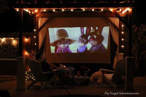 backyard movie night ideas outdoor movie night ideas my frugal adventures