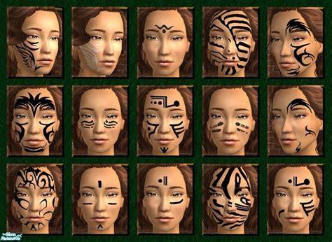 facial tribal tattoos scatterjoy s tribal tattoos