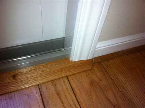 Patio Door Sill by Advanced Window Systems Belmont 591 5253 Oak Sill Detail