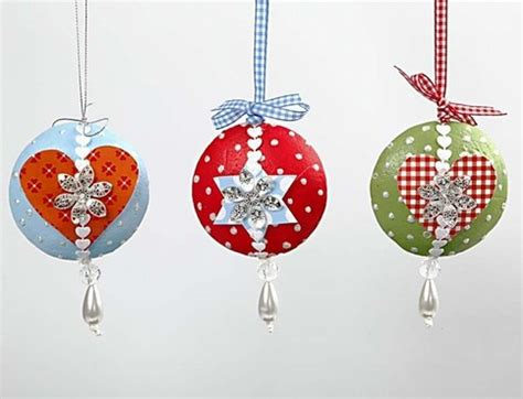 retro christmas hanging decorations