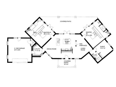 house plans with dual master suites ranch house plans with dual master suites