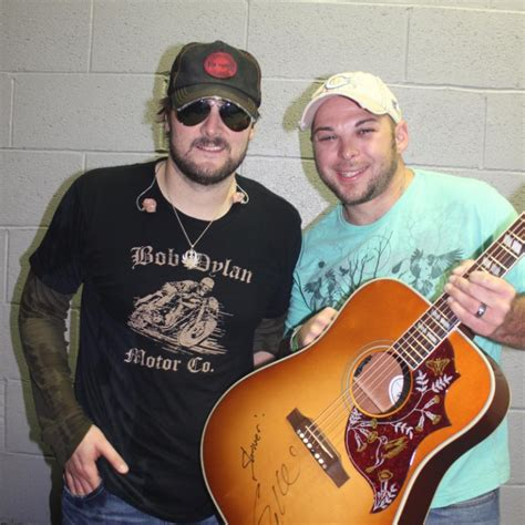 eric church fan pressroom eric church celebrates fan s 100th in style