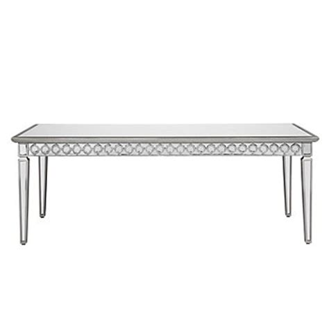 mirrored dining room table mirrored dining table collection z gallerie