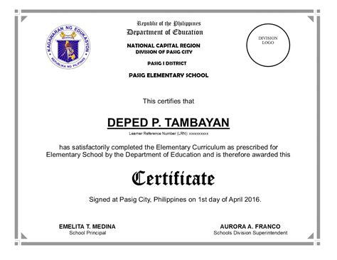 Sle Graduation Speech For Elementary School Tagalog 1000 Images About Education T Ideas On Elementary School Graduation Diploma Template