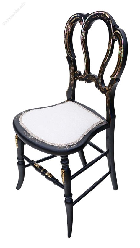 antique bedroom chair victorian mother of pearl inlaid bedroom chair antiques