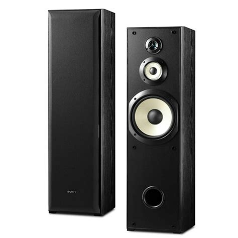 sony ssf 5000 floor standing 3 way speakers 150 watt