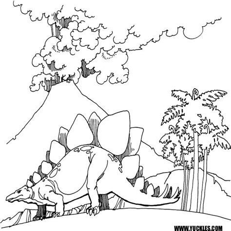 coloring pages dinosaurs stegosaurus stegosaurus coloring page by yuckles