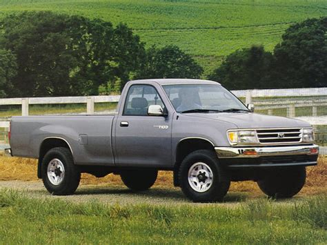 1993 Toyota T100 1993 Toyota T100 Specs Safety Rating Mpg Carsdirect