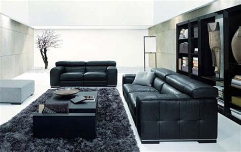 Living Room With Black Furniture Living Room Decorating Ideas With A Black Sofa Room Decorating Ideas Home Decorating Ideas