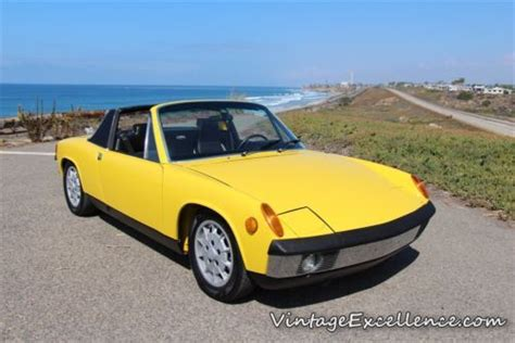 porsche 914 yellow buy used 1970 porsche 914 6 blue plate ca car matching s