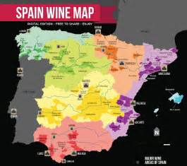 Spain Wine Map by Spain Wine Region Map Pictures To Pin On Pinterest Pinsdaddy