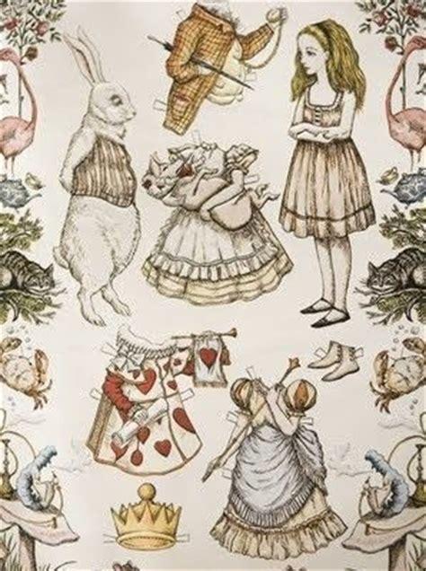 alice in wonderland wallpaper for a children s bedroom