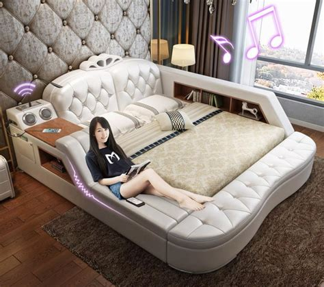 Flip Out Sofa Bed The Ultimate Bed With Integrated Massage Chair Speakers