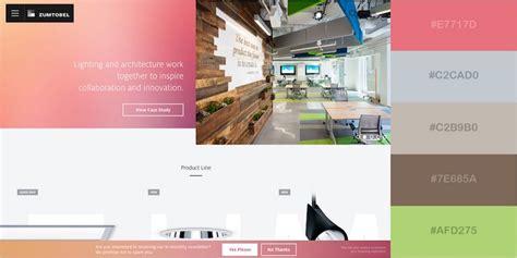 best website color schemes 29 beautiful color schemes from award winning websites