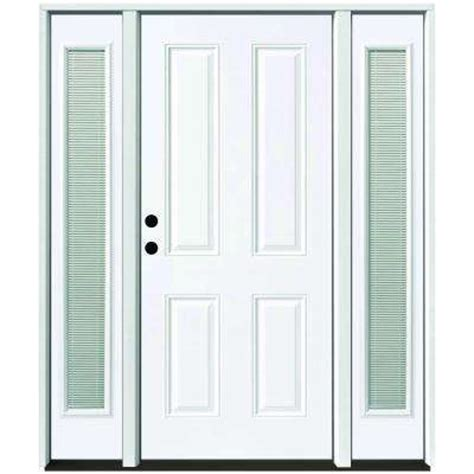 Blinds For Front Doors With Glass Blinds Between The Glass Steel Doors Front Doors The Home Depot