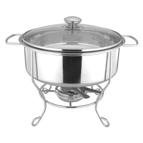26cm stainless steel chafing dish with iron rack