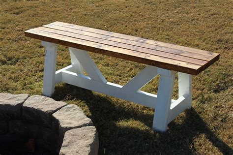 Firepit Bench White Pit Benches Diy Projects
