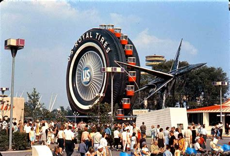 worlds largest tire     ferris wheel  nycs  worlds fair sqft