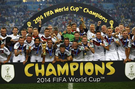 germany world cup 2014 fifa world cup germany defeats argentina 1 0 in