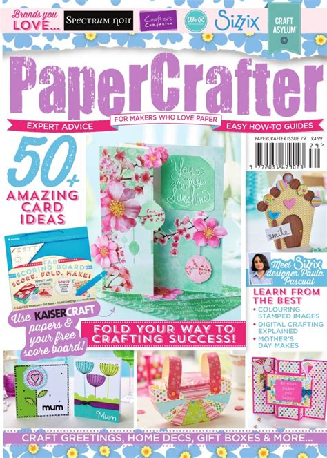 Papercrafter Magazine - papercrafter issue 79 out now papercrafter