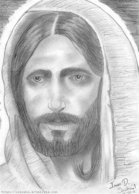 imagenes a lapiz del rostro de jesus dibujos del rostro de jes 250 s a l 225 piz imagui
