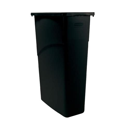 tall thin garbage can