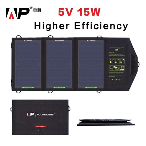 iphone charger voltage buy higher efficiency solar panel charger 15 watt 5