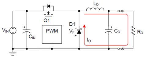 diode current buck converter nonsynchronous buck converters higher efficiency digikey