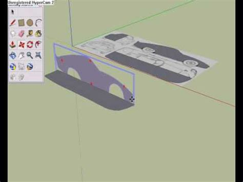 google sketchup castle tutorial how to create a car in google sketchup tutorial youtube