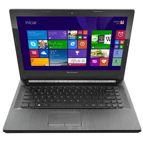 Laptop Lenovo G40 70 I5 notebook lenovo g40 70 intel 174 core i5 4200u 4gb 1tb gravador de dvd leitor de cart 245 es