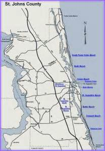map of st johns county