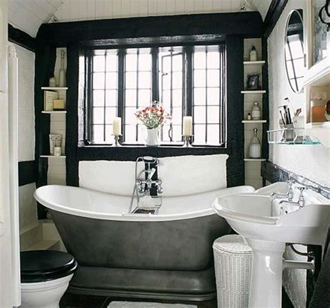 vintage black and white bathroom ideas pretty vintage bathroom ideas