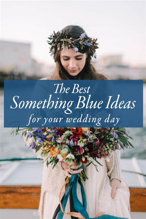 the best something blue ideas for your wedding day weddings