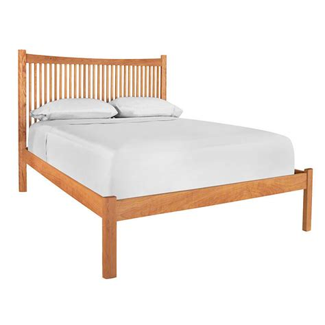 Bed Footboards by Modern Shaker Low Footboard Platform Bed Made In The Usa