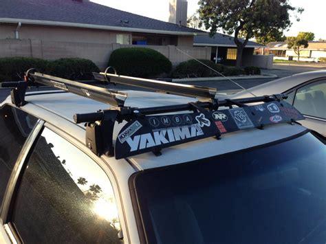 Yakima Roof Racks by Fs Yakima Roof Rack With 2 Bike Mounts And Key Honda Tech