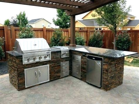 diy outdoor kitchen grill islands diy design ideas