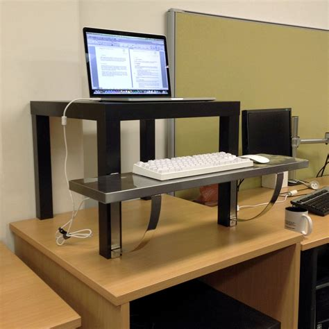 Standing Desk Ikea Take A Stand Try A Standing Desk For Your Health The Shelving Store