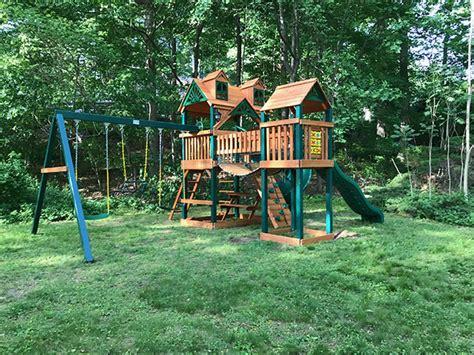 Swing Set Installation In Boston Ma Swing Set