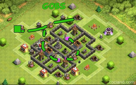 best layout in coc th5 clockwork farming base layout for th5 clash of clans land