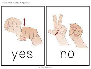 language no sign language yes no sign wall
