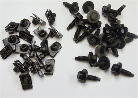 plymouth dodge chrysler fender bolts short  nuts      ebay
